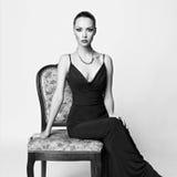Elegante Dame Royalty-vrije Stock Afbeeldingen