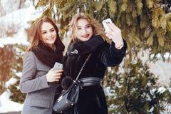 Elegante dames stock fotografie