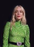 ` Elegante de Chloe Sevignyat del actor la premier de la cena en el festival de cine 2017 de Tribeca Imagen de archivo