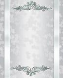 Elegante de uitnodigingsachtergrond van het huwelijk Royalty-vrije Stock Foto's