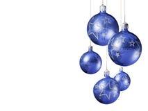 Elegante decoratieve geïsoleerdep Kerstmissnuisterijen. Royalty-vrije Stock Foto