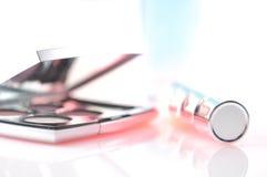 Elegante dekorative Kosmetik Lizenzfreies Stockbild