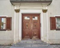 Elegante deur, Munchen, Duitsland Royalty-vrije Stock Foto
