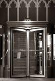 Elegante Einstiegstüren Stockbild