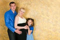 Elegante Familie Lizenzfreie Stockfotos