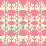 Elegante Farbe plätschern nahtloses Muster lizenzfreie stockbilder