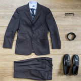 Elegante formale Reihe Lizenzfreie Stockfotografie