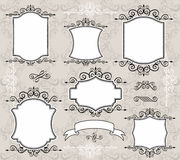 Elegante frames   Royalty-vrije Stock Afbeeldingen