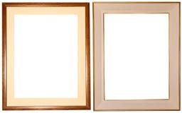 Elegante frames + Wegen stock fotografie