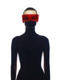 Elegante futuristische dame Royalty-vrije Stock Foto's