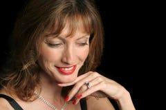 Elegante Geamuseerde Schoonheid - Royalty-vrije Stock Fotografie