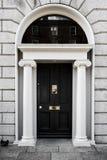 Elegante georgische Türen Lizenzfreies Stockbild
