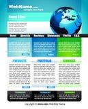 Elegante GESCHÄFT Web site lizenzfreie abbildung