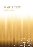Elegante gouden achtergrond vector illustratie