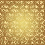 Elegante gouden achtergrond Royalty-vrije Stock Afbeelding
