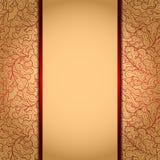 Elegante gouden achtergrond? Stock Afbeelding