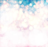 Elegante Grunge-Kerstmis Lichte Bokeh stock illustratie