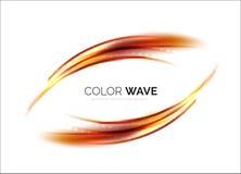 Elegante helle machen Welle glatt Stockbilder