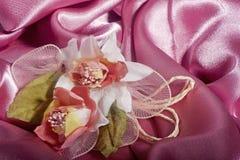 Elegante Hochzeitsbevorzugungen stockbild