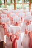 Elegante Hochzeitszeremonie Stockbild