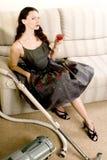 Elegante huisvrouw royalty-vrije stock fotografie