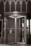 Elegante Ingangsdeuren Stock Afbeelding