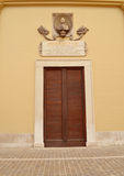 Elegante Italiaanse deur Royalty-vrije Stock Fotografie