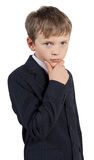 Elegante jongen Royalty-vrije Stock Foto's