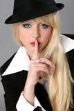 Elegante junge Geschäftsfrau Lizenzfreie Stockbilder