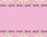 Elegante Karte Stockbild