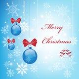 Elegante Kerstmisachtergrond Royalty-vrije Stock Afbeelding
