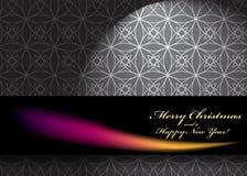 Elegante Kerstmisachtergrond Stock Afbeelding