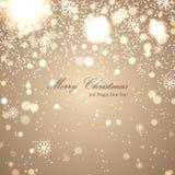 Elegante Kerstmisachtergrond Royalty-vrije Stock Foto's