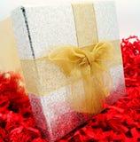 Elegante Kerstmisgift Royalty-vrije Stock Afbeelding