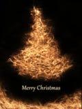 Elegante Kerstmiskaart royalty-vrije illustratie