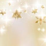 Elegante Kerstmissneeuwvlokken en copyspace. Royalty-vrije Stock Foto