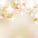 Elegante Kerstmissneeuwvlokken en copyspace. Stock Fotografie