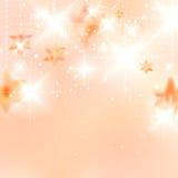 Elegante Kerstmissneeuwvlokken en copyspace. Royalty-vrije Stock Afbeelding