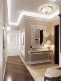 Elegante klassieke en luxueuze zaal Royalty-vrije Stock Foto