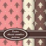 Elegante klassische Muster Stockfotos