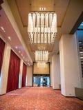 Elegante Lampen im Hotel Stockfoto