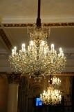 Elegante Leuchter Stockbild