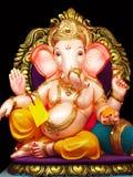 Elegante Lord Ganesha stock afbeelding