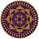 Elegante Mandala Royalty-vrije Stock Fotografie