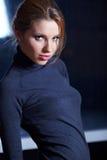 Elegante moderne Frau Lizenzfreies Stockfoto