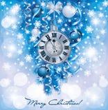 Elegante neue Jahre Hintergrund Stockfoto