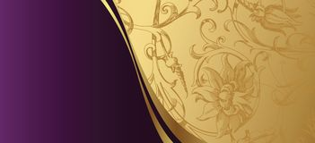 Elegante ontwerpachtergrond Stock Foto's