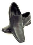 Elegante Paare der schwarzen Schuhe Stockbilder