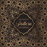Elegante patroonachtergrond Royalty-vrije Stock Afbeelding