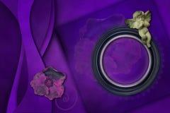 Elegante Photoframe snelle paginalay-out stock foto